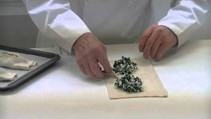 How to make spinach and feta strudel